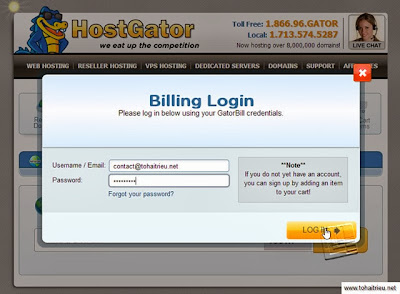 Manage Domains at Hostgator