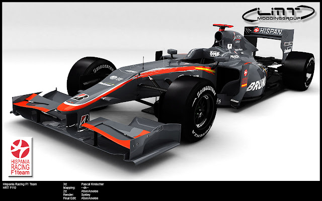 rFactor F1 mod HRT F110 LMT 2010