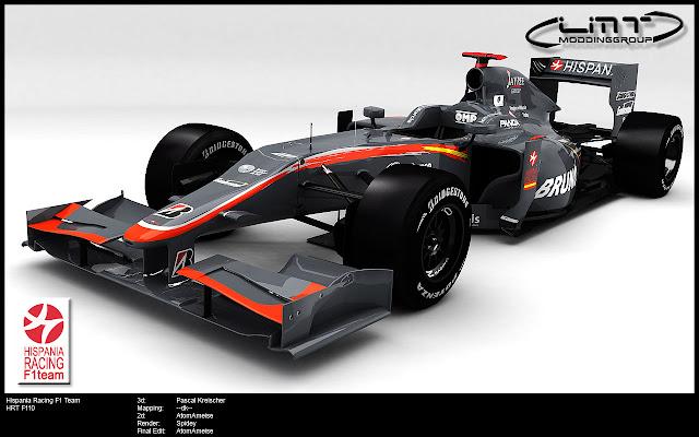 rFactor F1 mod HRT F110 LMT 2010