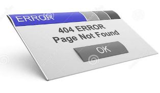 Cara Mengatasi Error 404 Page Not Found Blogger
