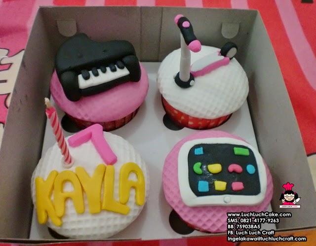 Cupcake Piano, Skuter, Ipad
