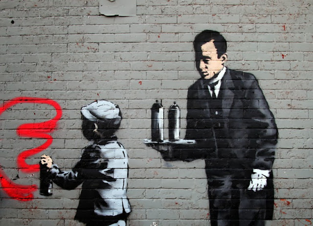 """""""Ghetto 4 Life"""" Banksy's New Piece For """"Better Out Than In"""" located In South Bronx - Day 21, October 21st. 2"""