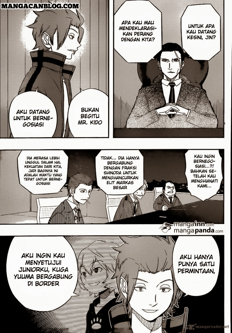 Dilarang COPAS - situs resmi www.mangacanblog.com - Komik world trigger 031 - jin yuuichi 5 32 Indonesia world trigger 031 - jin yuuichi 5 Terbaru 15|Baca Manga Komik Indonesia|Mangacan