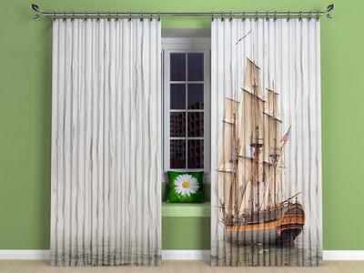 art d co rideaux d co originaux de toute beaute. Black Bedroom Furniture Sets. Home Design Ideas