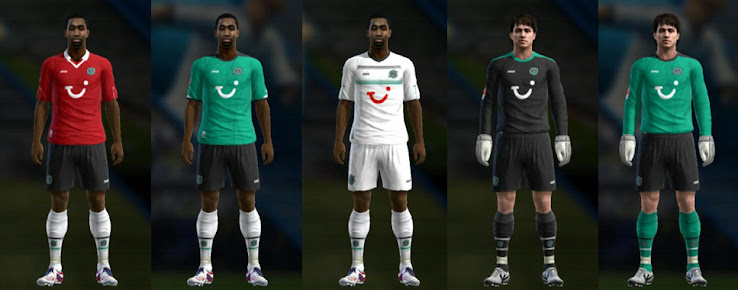 PES 2013 Hannover 12 13 Kit Set by Bonaventura
