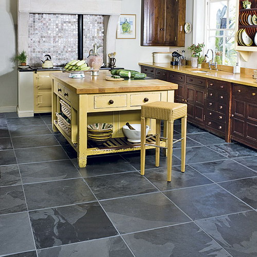 Choosing Various Options For Kitchens Flooring Home Design Gallery