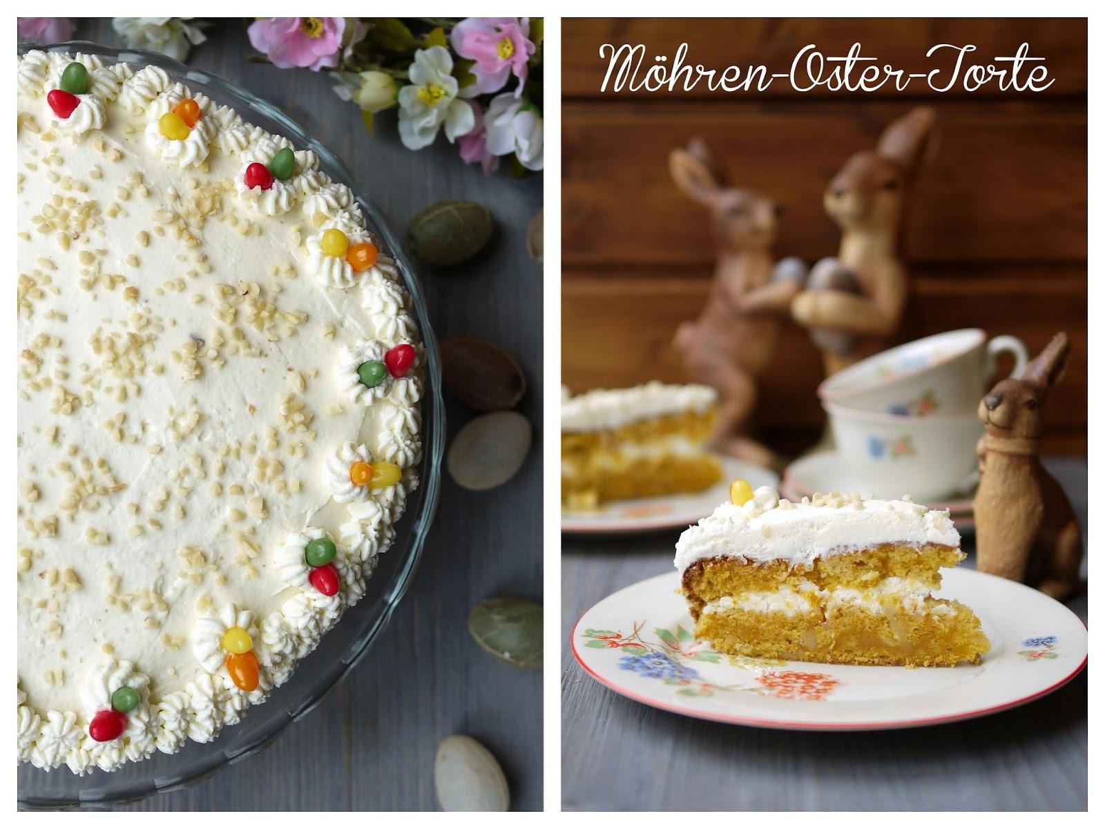 Experimente aus meiner Küche: Möhren-Oster-Torte