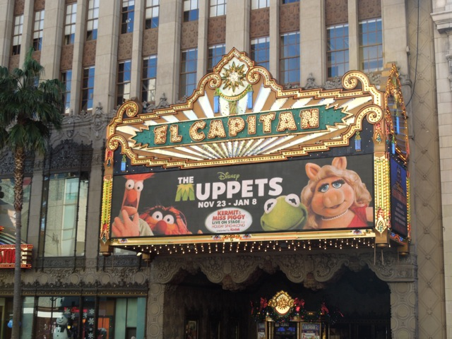 The Muppets El Capitan Theatre