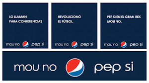 "Nueva campaa publicitaria en Argentina: ""MOU NO , PEP SI"""