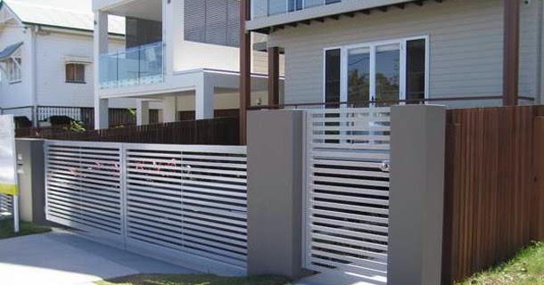 20 macam desain pagar rumah terbaik desain rumah minimalis