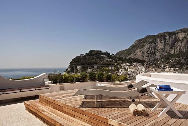 Capri (Italia) - Capri Tiberio Palace Hotel 5* - Hotel da Sogno