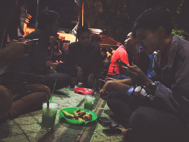 Yogyakarta Kopi Joss Crowd