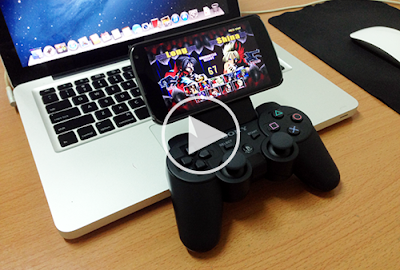 instructions for all Android devices running game with DualShock 3 professional with Sixaxis Controller