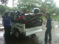 Pengiriman Supra Timika Sky wave Bali Vega Merauke