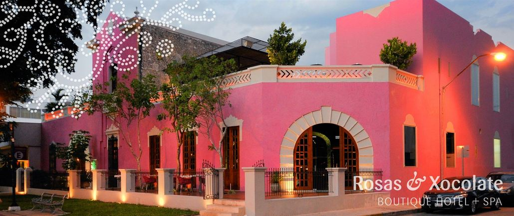 HOTEL BOUTIQUE & ROSAS & XOCOLATE