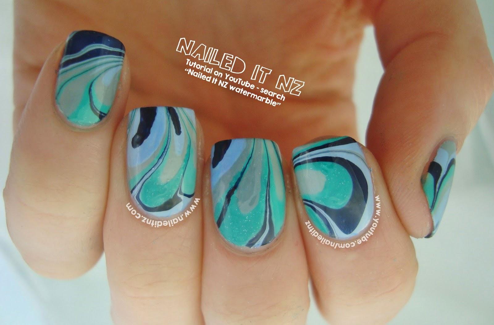 Water Marble Nail Art Tutorial   Essie Nail Polish