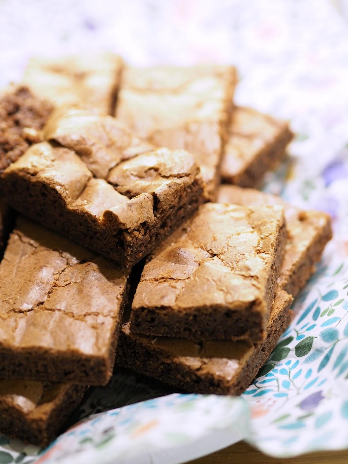 gluteeniton brownie resepti ohje