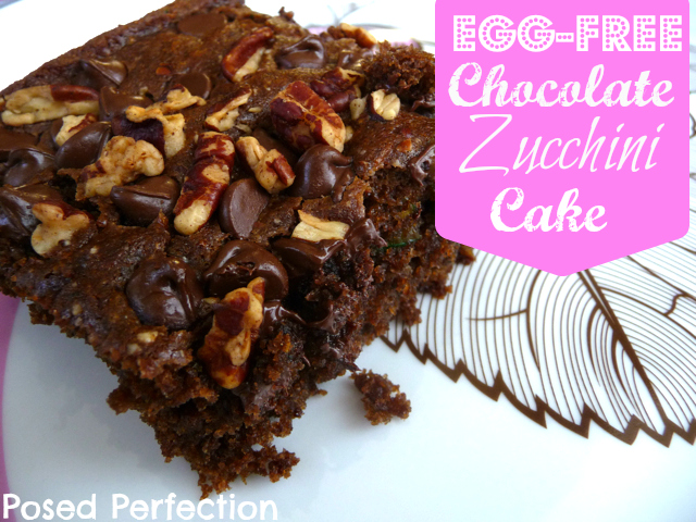 Egg-Free Chocolate Zucchini Cake