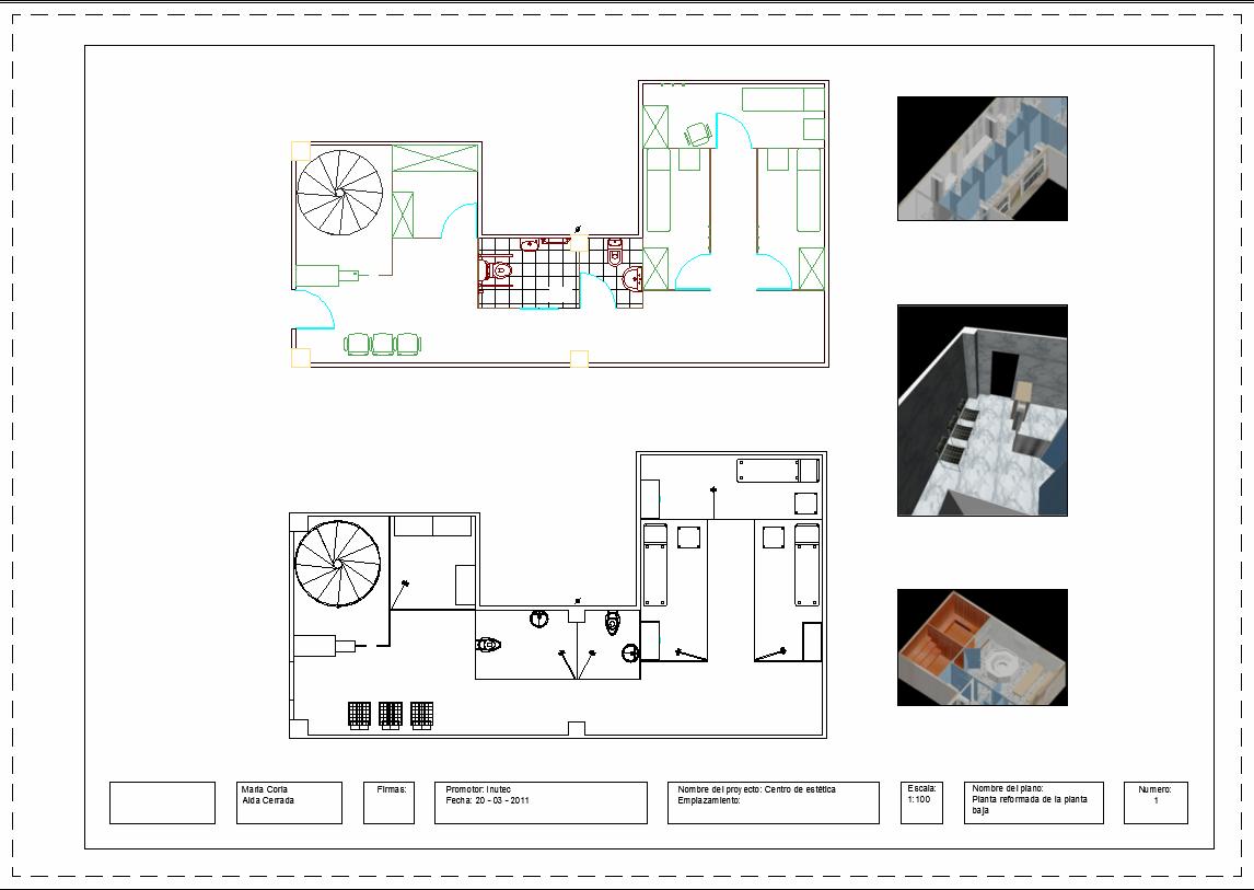 Proyectos de decoraci n proyecto 6 centro de est tica for Proyectos de decoracion