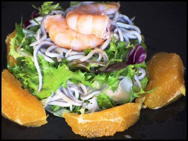 Paseo por la red 5 ensaladas originales cuuking - Ensalada de langostinos ...