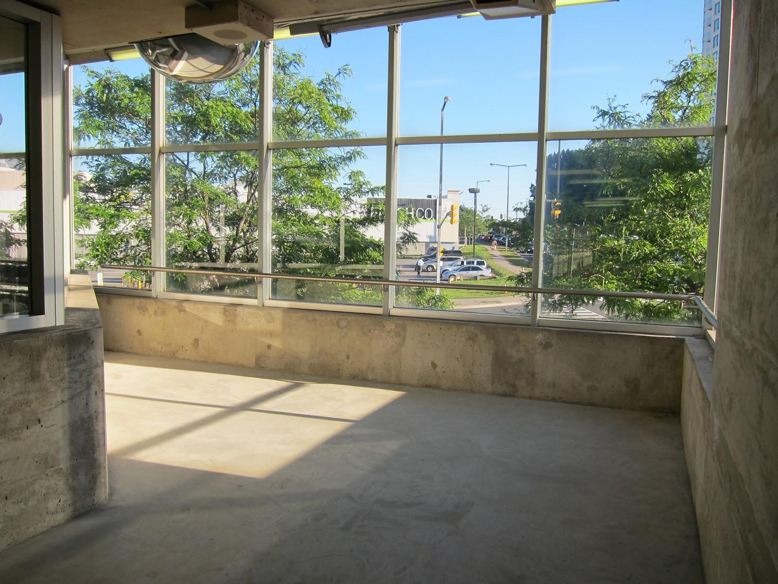 Interior waiting space at McCowan