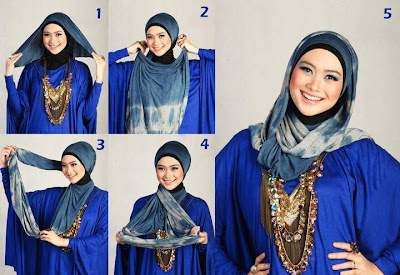 Cara Pakai Jilbab Modern Elegan Terbaru