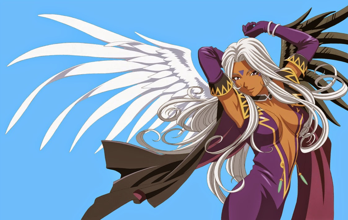 Urd dari anime Ah My Goddess!