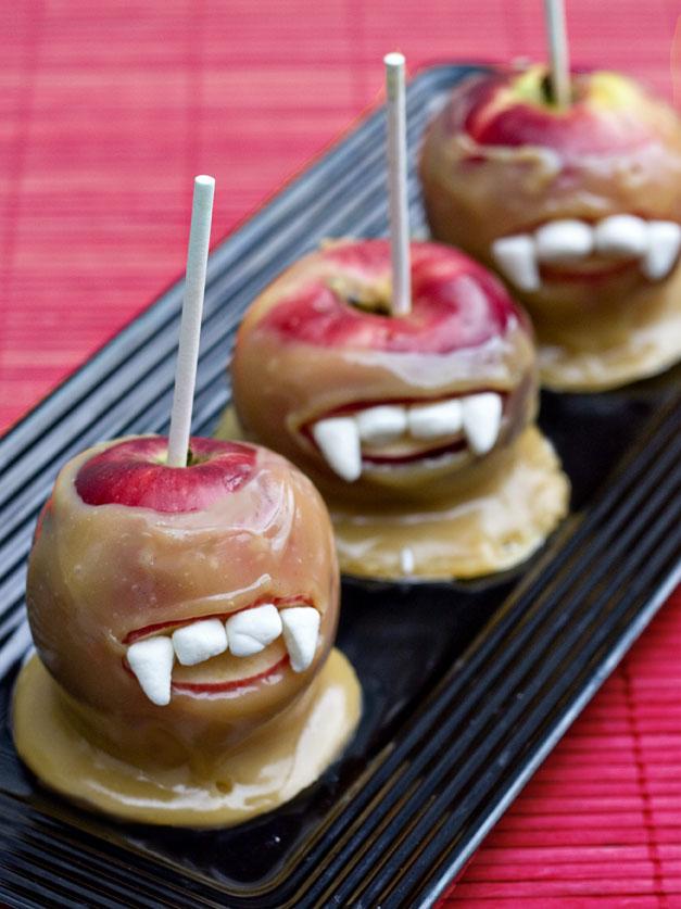 Erica S Sweet Tooth Vampire Caramel Apples