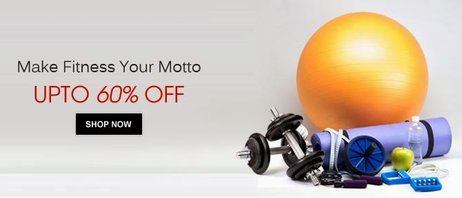 Shopclues : Make Fitness Your Moto : Buy To Earn