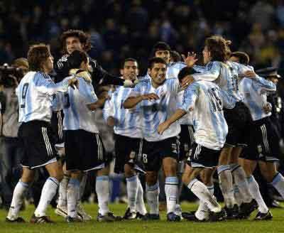 Arfentina fútbol