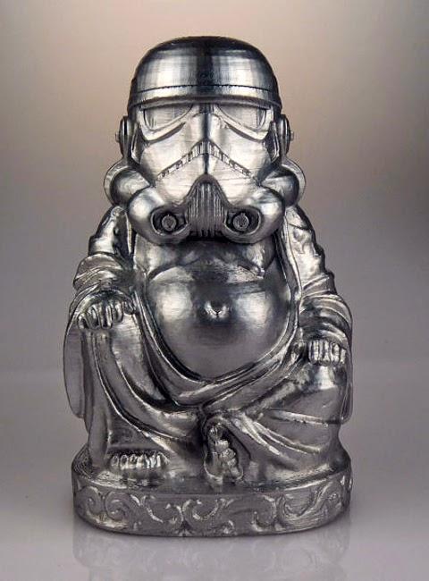 Buddha Statues Look Like Iconic Figures