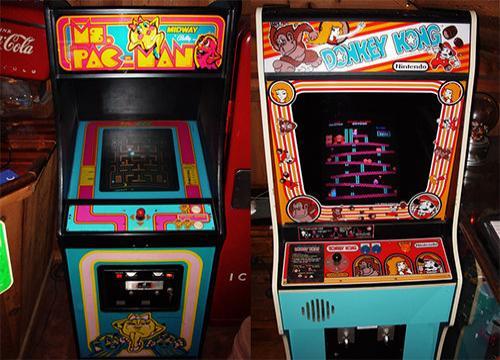 Pac-Man, Donkey Kong