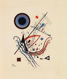 Blau 1922 - Wassily Kandinsky painting
