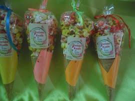 Popcorn Madu Cone