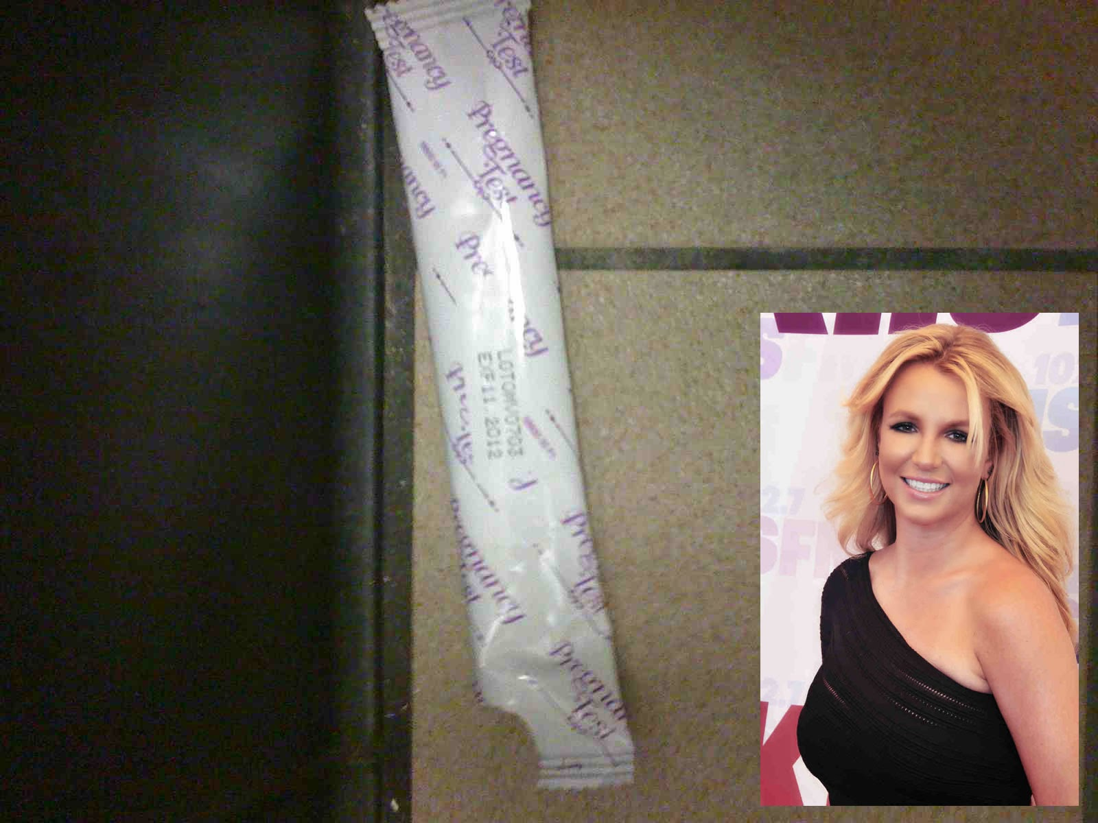 Britney Spears' Pregnancy Test