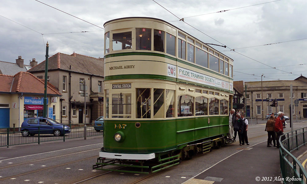 Blackpool Tram Blog: Heritage Tour to Cleveleys