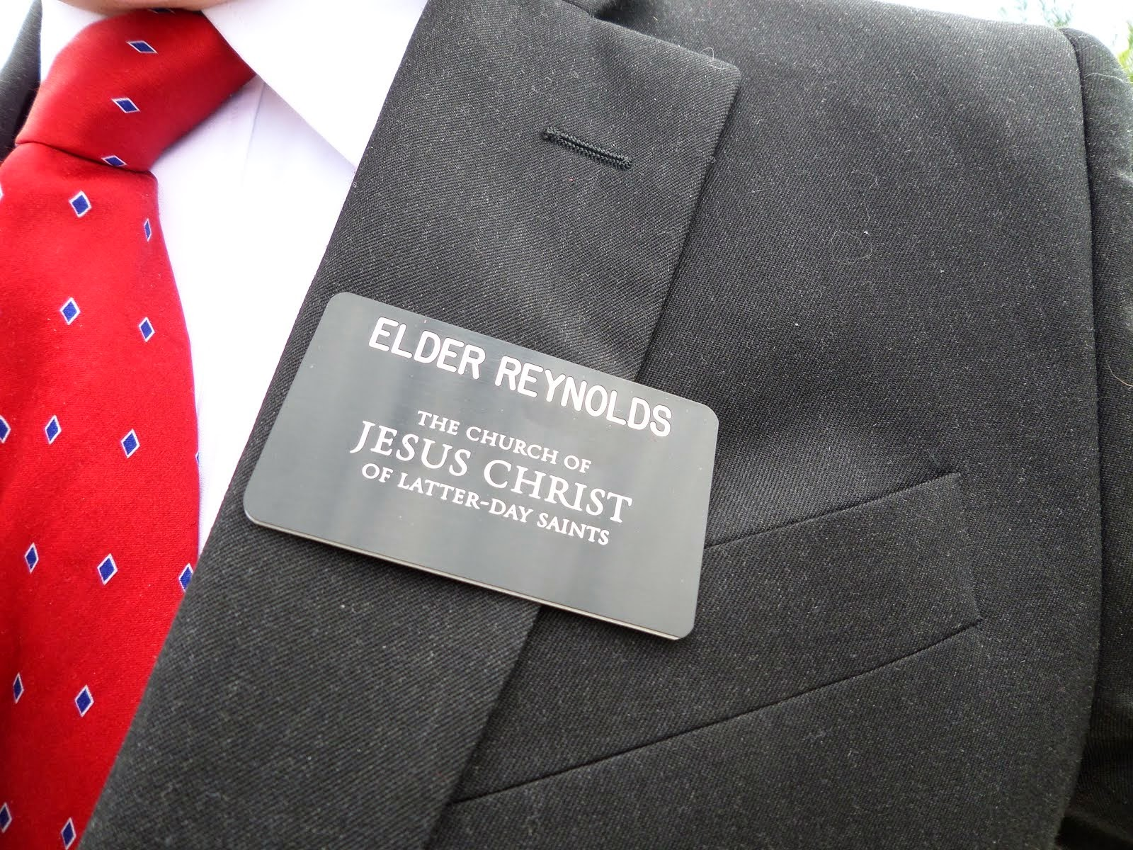 Elder Reynolds Nametag