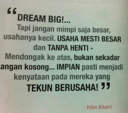 irfan khairi quote