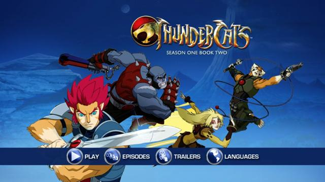 Thundercats 2011 Latino Temporada 1 Book 1 y 2 DVD