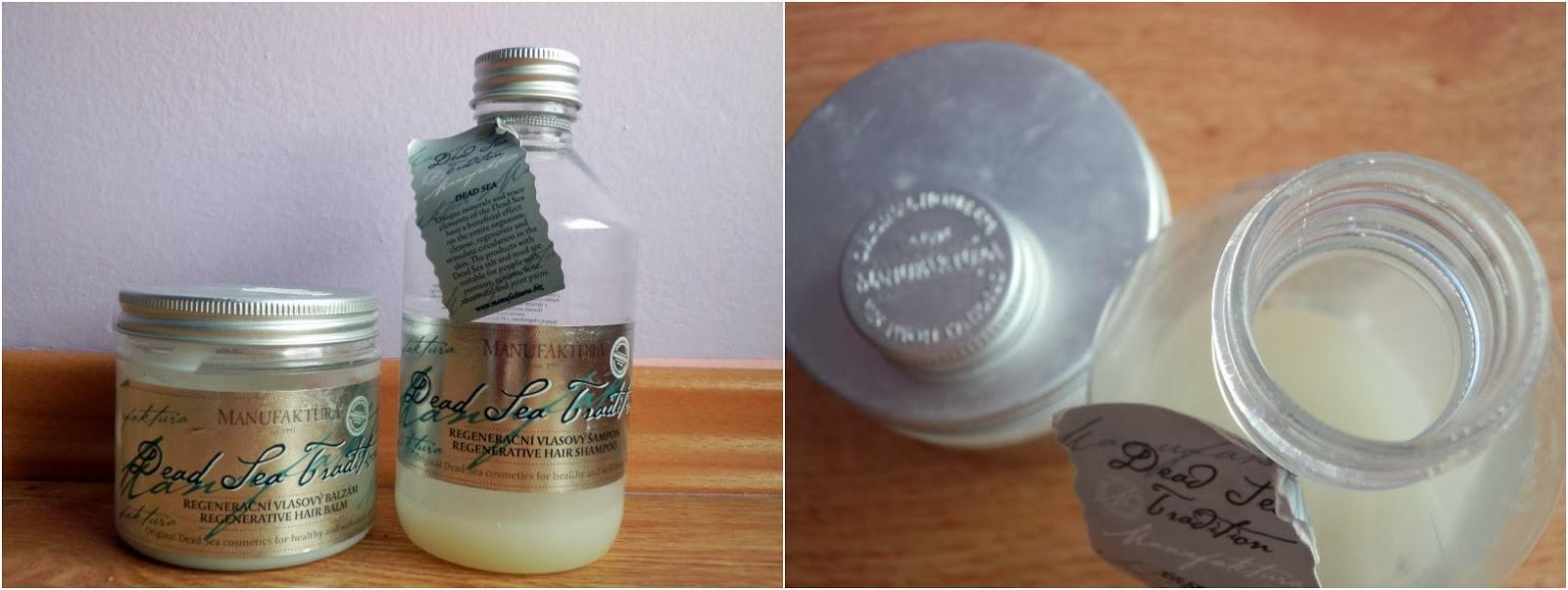 recenze Manufaktury, balzám a šampón