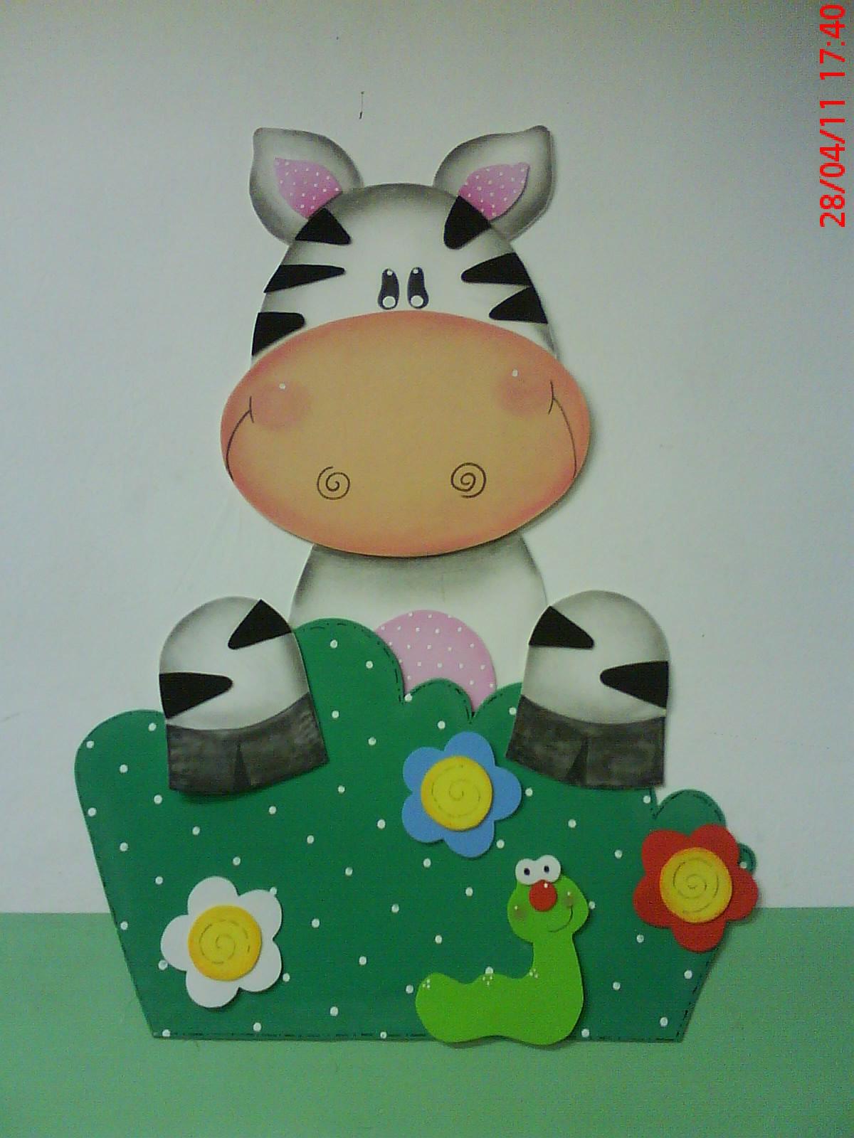 decoracao sala zebra : decoracao sala zebra:Já essa zebrinha é criação minha fiquei tão inspirada e acabei