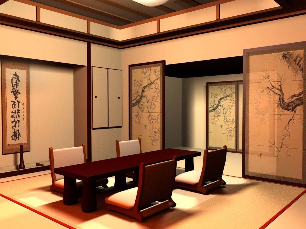 Desain Ruang Tamu Minimalis Ala Tradisional Jepang Minimalist Idcom