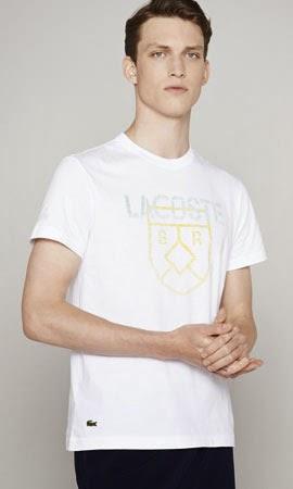 camiseta Lacoste colección Mundial Brasil