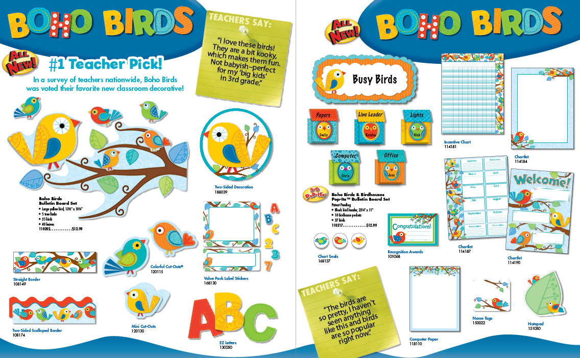 Classroom Ideas With Birds ~ Teacher bits and bobs my favorite bulletin board linky party