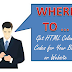 WHERE TO ... Get HTML Colour Codes for Your Blog or Website