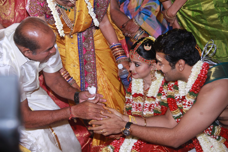 Actress Sneha Wedding