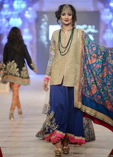 Zara shahjahan bridal collection 2015 at pfdc 2014 - Zara paris collection ...