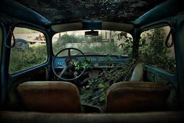 Kreatif - Gambar Kereta Lama