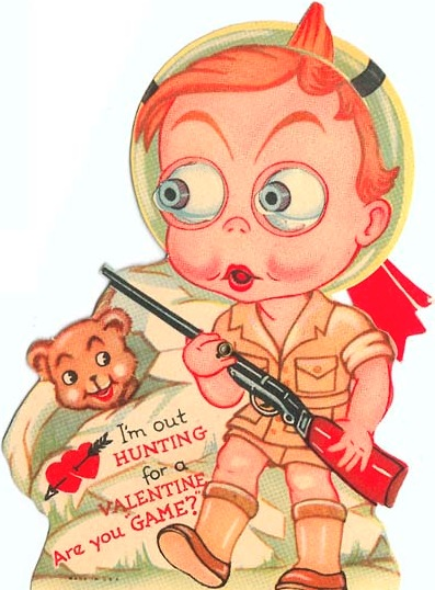 old fashioned valentine s day card