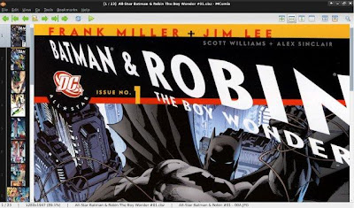 MComix Comic Book Reader for Ubuntu